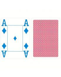 COPAG 4 kleuren speelkaarten rood