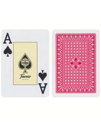 818 Poker Fournier speelkaarten rood