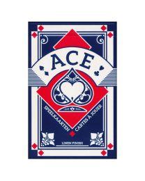Ace cartes à jouer bridge bleu