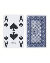 ACE playing cards extra visible blauw