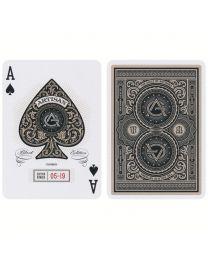 Artisan speelkaarten zwart