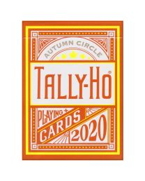 Autumn Circle Back Tally-Ho Playing Cards 2020