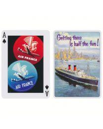 Bagagelabels speelkaarten Piatnik