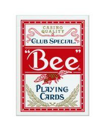 Bee standaard speelkaarten rood