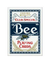 Bee standaard speelkaarten blauw
