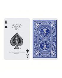 Bicycle bridge kaarten blauw