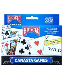 Bicycle Canasta games double deck speelkaarten