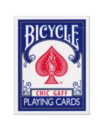 Bicycle Chic Gaff Playing Cards Blue