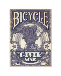 Bicycle Civil War Deck Union Blue
