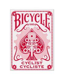 Bicycle kaarten cyclist rood