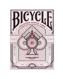 Bicycle kaarten Gentleman White back