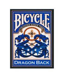 Bicycle Dragon Back speelkaarten blauw