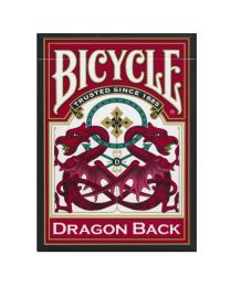 Bicycle Dragon Back kaarten rood