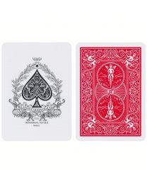 Bicycle Faro Edition Playing Cards Red