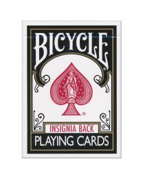 Bicycle Insignia Back playing cards zwart