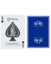 Bicycle Inspire speelkaarten blauw