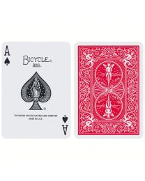 Bicycle Invisible Deck Red