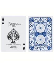 Bicycle kaarten cyclist blauw