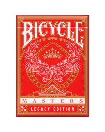 Speelkaarten Bicycle Legacy Masters rood
