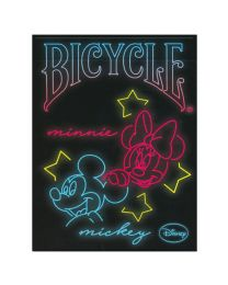 Bicycle Mickey Mouse Neon Playing Cards