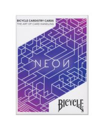 Bicycle Neon blauwe Aurora speelkaarten Cardistry