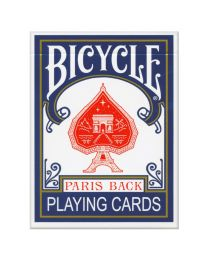 Blauwe kaarten Bicycle Paris Back