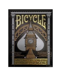 Bicycle speelkaarten Architectural Wonders of the World
