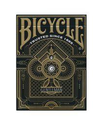 Bicycle speelkaarten Gentleman Black back