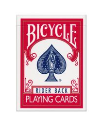 Bicycle Rider Back kaarten rood