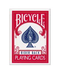 Bicycle Rider Back kaarten rood