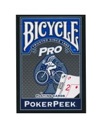 Bicycle Speelkaarten Pro Poker Peek Blauw