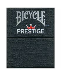 Bicycle Prestige Plastic Playing Cards Dura-Flex Red