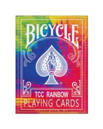 Bicycle TCC Rainbow Playing Cards