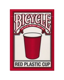 Bicycle Speelkaarten Red Plastic Cup