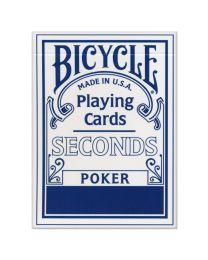 Bicycle Seconds Blauw