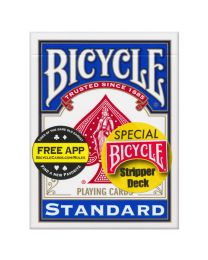 Bicycle Stripper Deck blauw