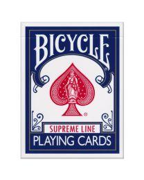 Bicycle Supreme Line speelkaarten blauw