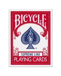 Bicycle Supreme Line speelkaarten rood