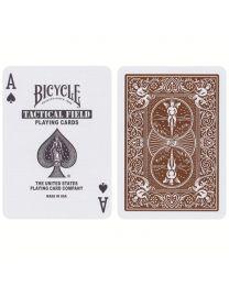 Bicycle Tactical Field speelkaarten Desert Brown