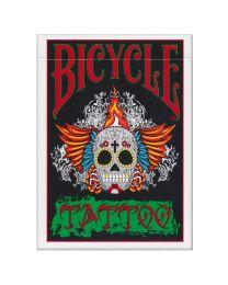 Bicycle Tattoo speelkaarten