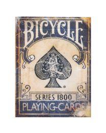 Gemarkeerde speelkaarten Bicycle Vintage Series 1800 blauw