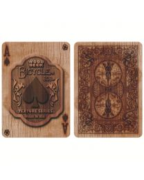 Bicycle Wood Deck Rider Back Playing Cards