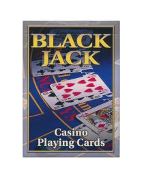 Black Jack Casino Speelkaarten Cartamundi