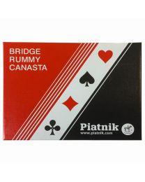 Bridge, Rummy en Canasta kaarten Piatnik
