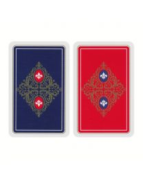 Canasta Playing Cards Linen Finish