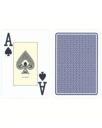 Cartamundi plastic casino kaarten blauw