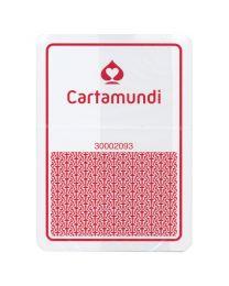 Cartamundi plastic casino kaarten rood