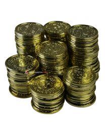 Casino gouden plastic munten