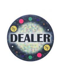 Mozaïek Keramische Dealer Button