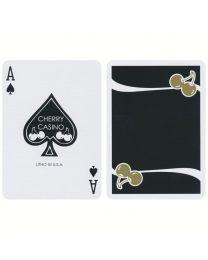 Cherry Casino Monte Carlo speelkaarten zwart en goud